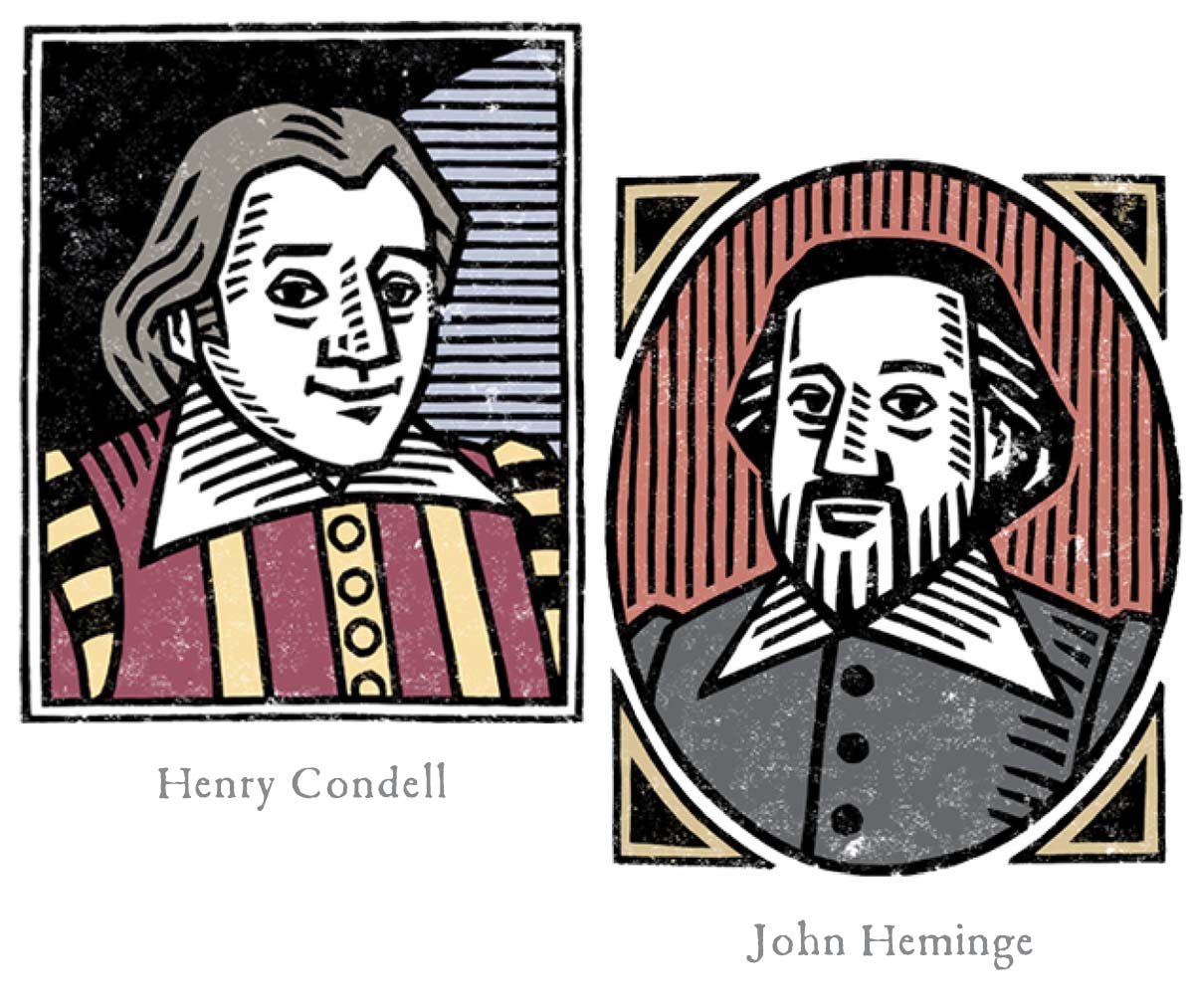 Henry Condell and John Heminge